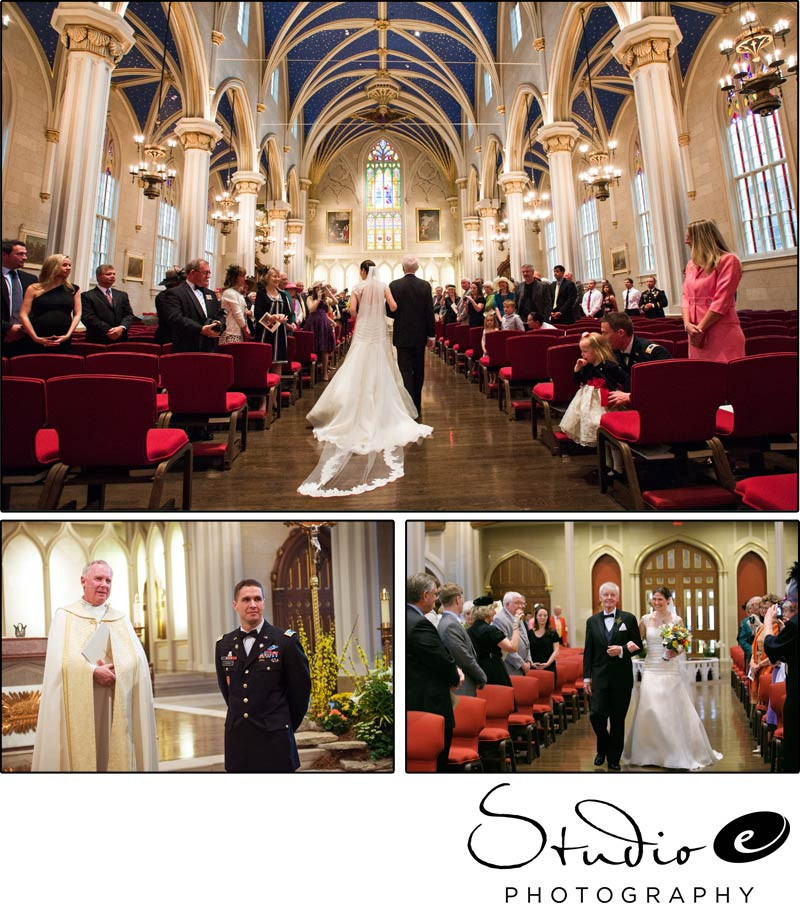 Louisville wedding photographerscathedral of the assumption wedding ceremony at the cathedral of the assumption louisville wedding junglespirit Gallery