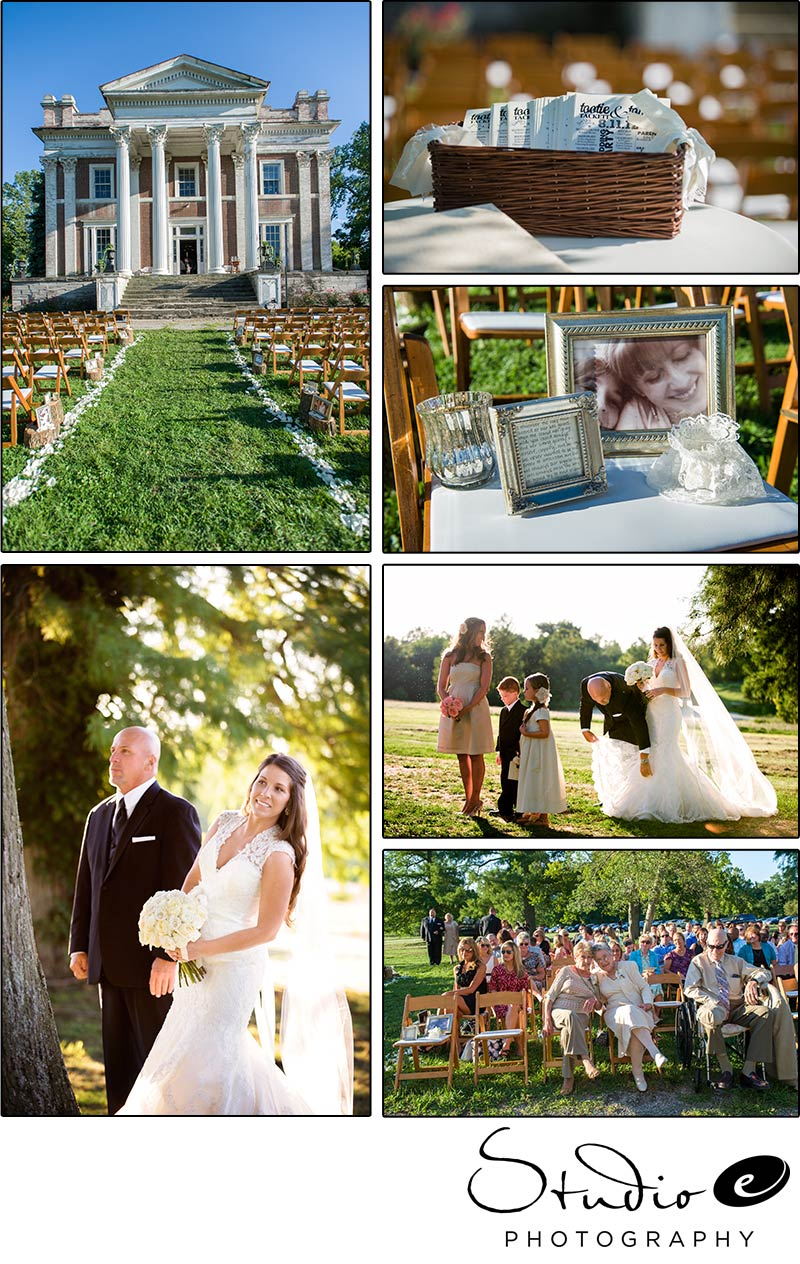 Tootie And Tommy Wedding At Ward Hall Georgetown KY